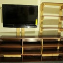 Turning a bookcase into a TV stand & more shelves