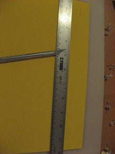 Cut Away Any Overhanging Foam Sheet