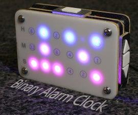 DIY Binary Alarm Clock