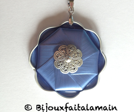 How to Make a Flower Pendant With a Coffee Pod