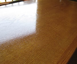 Look at it shine! Table restoration
