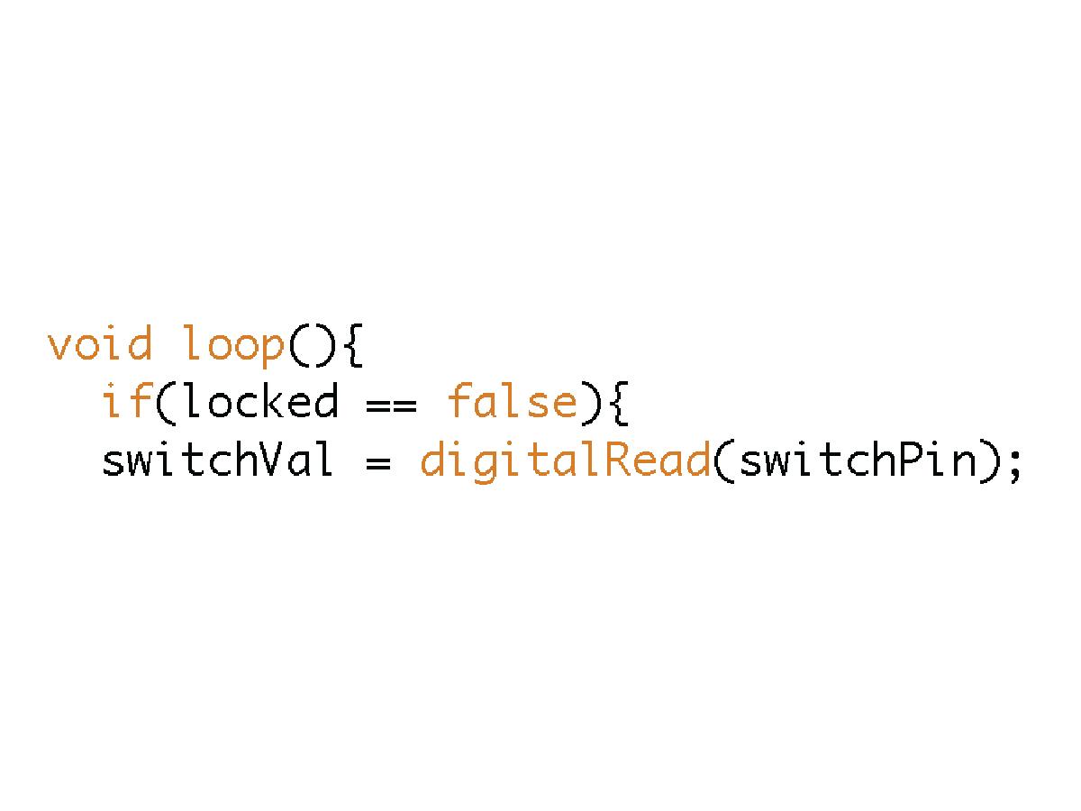 Picture of Check Lock Status: FALSE