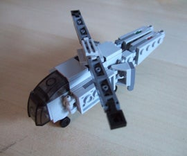 Lego Transforming Helicopter