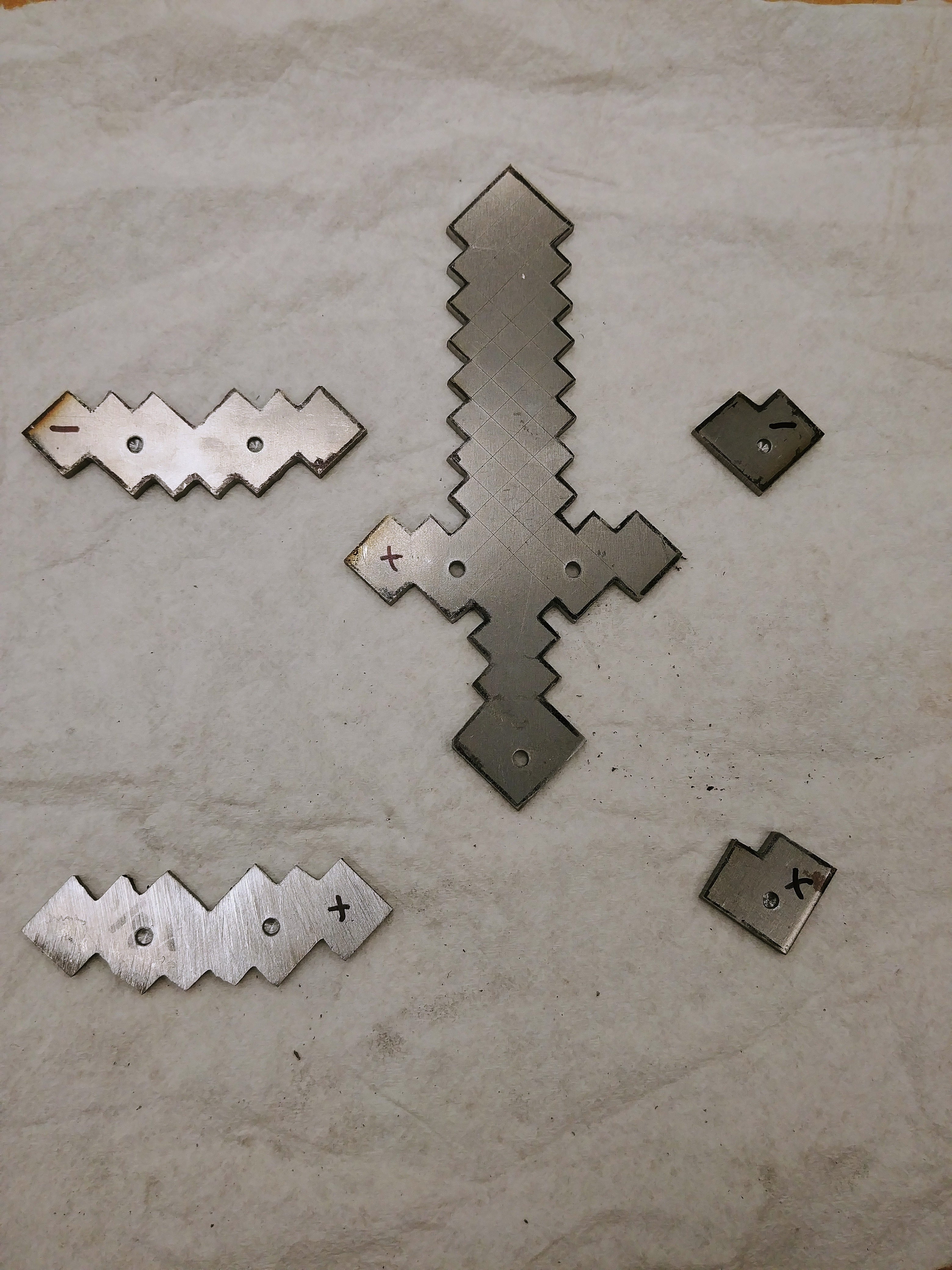 Picture of Attach the Cross Guard and Pommel