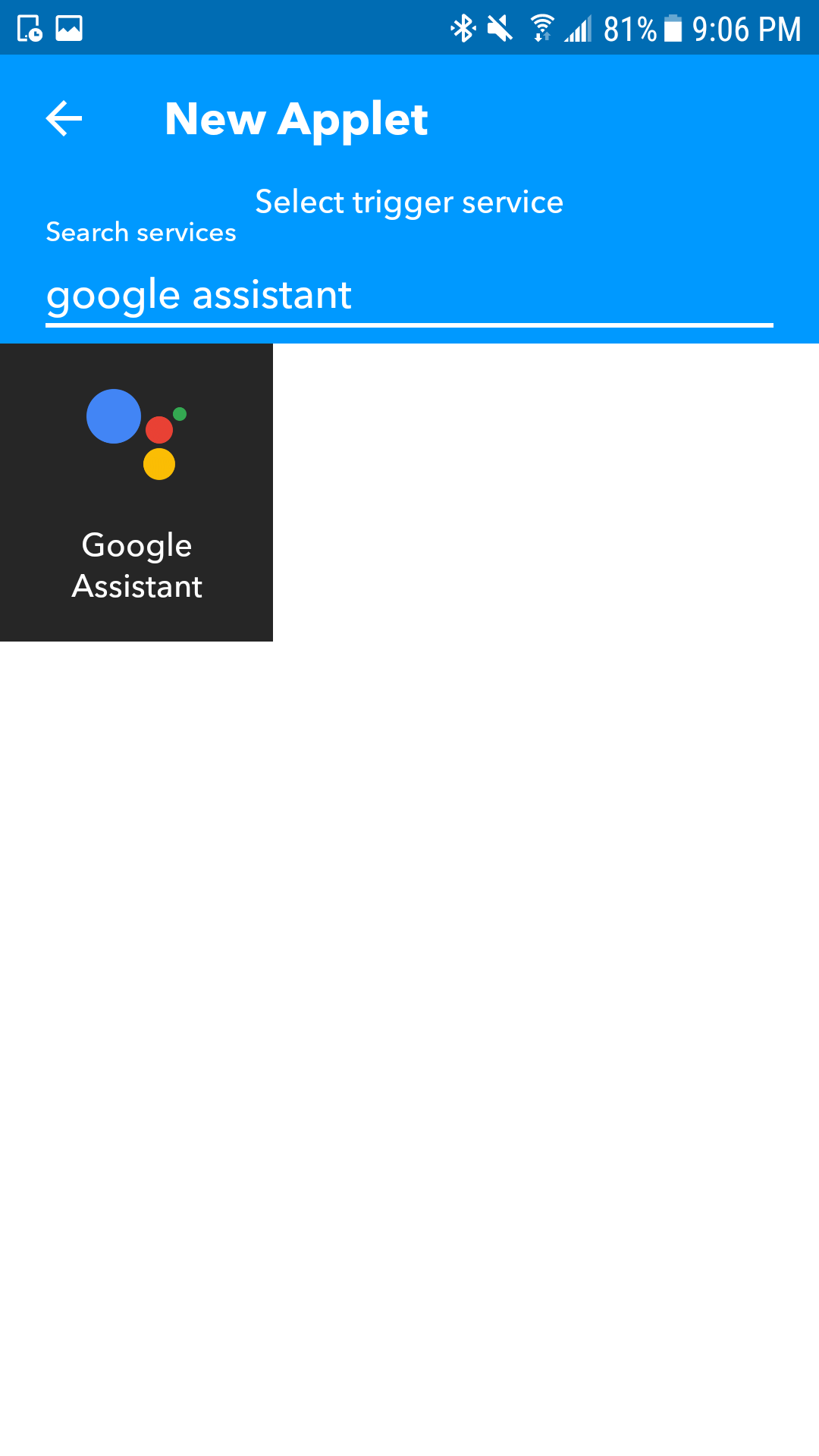 Picture of IFTT and Google Home Integration