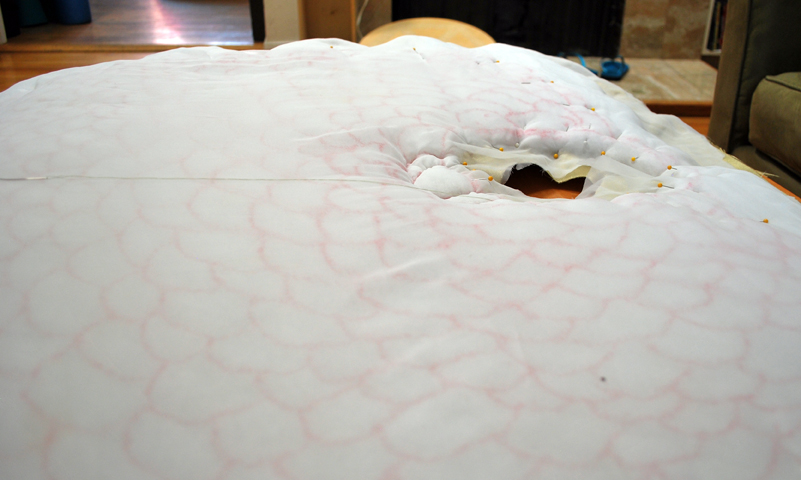 Picture of Quilting Research, Drawing and When Sewing Goes Awry