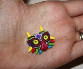How to Make a Majora's Mask Clay Charm