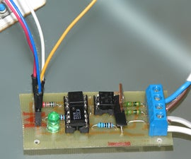 Arduino controlled light dimmer