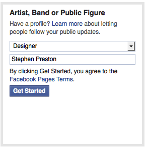 Picture of Create Your Facebook Page