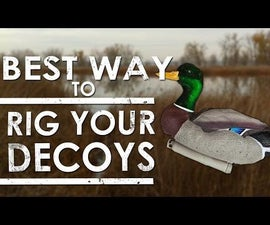 How to Rig Your Own Duck Decoys (The Best Way) DIY