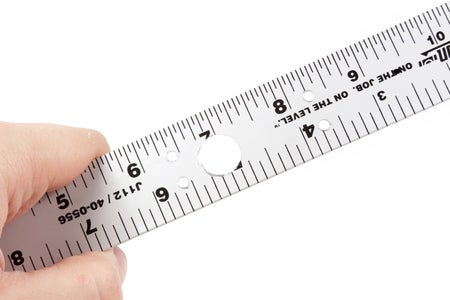Mark and Drill the Ruler Again
