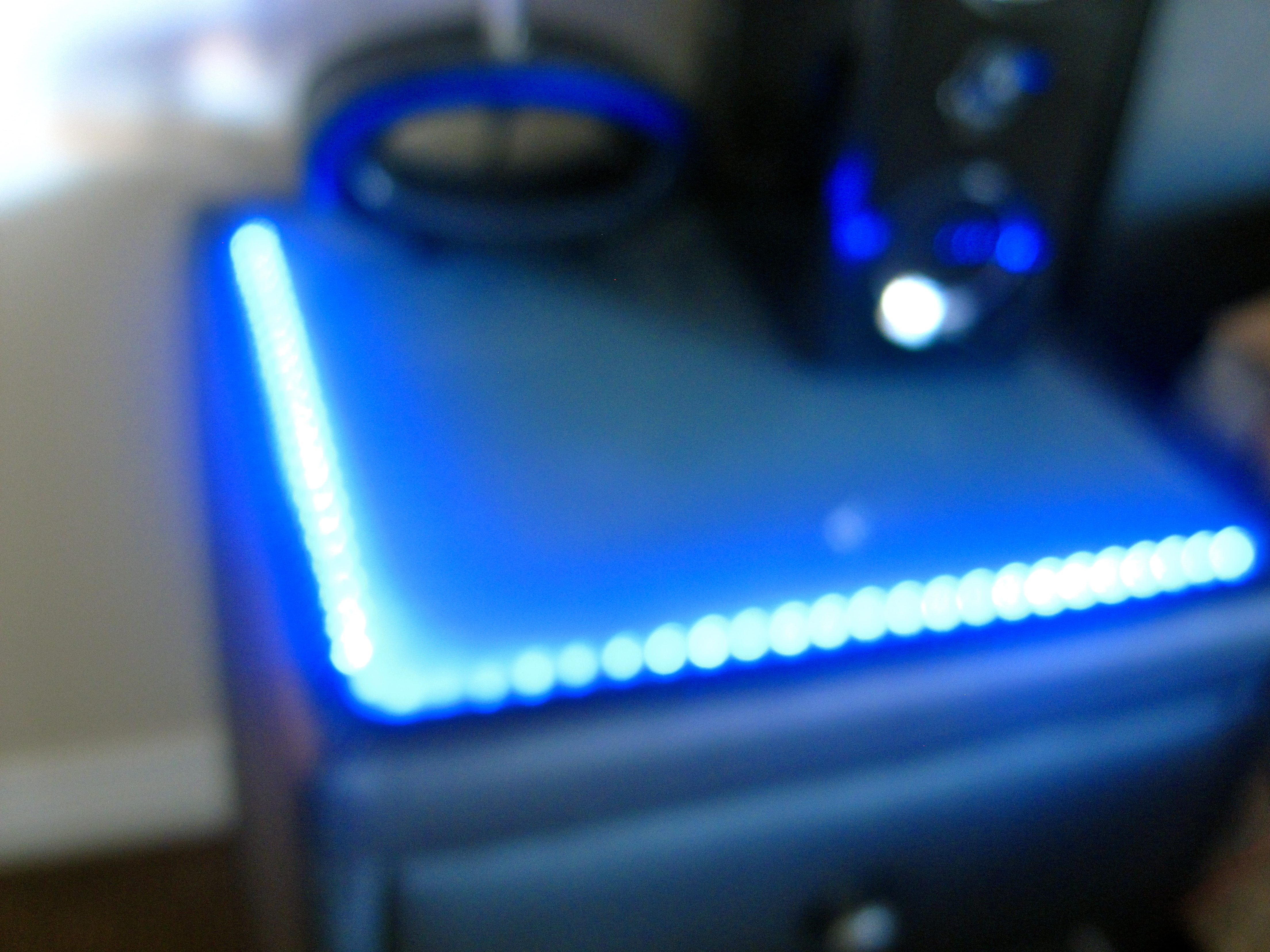 Picture of Lighted Bedside Table
