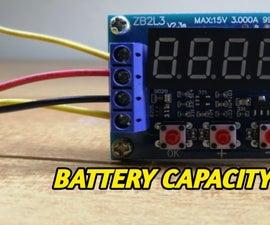 ZB2L3 BATTERY CAPACITY TESTER