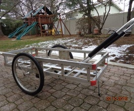 Fold-able cart with removable wheels