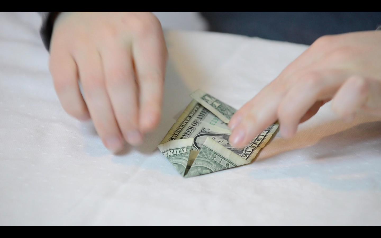 Money Tree Origami Dollar Flowers 9 Steps