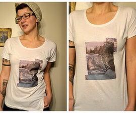 Make Your Own T-Shirt Art