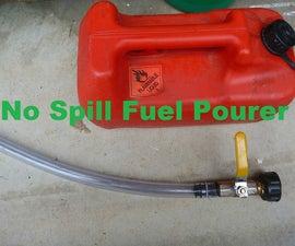 No Spill Fuel Pourer