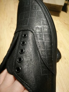 Transfer Pattern to Shoes