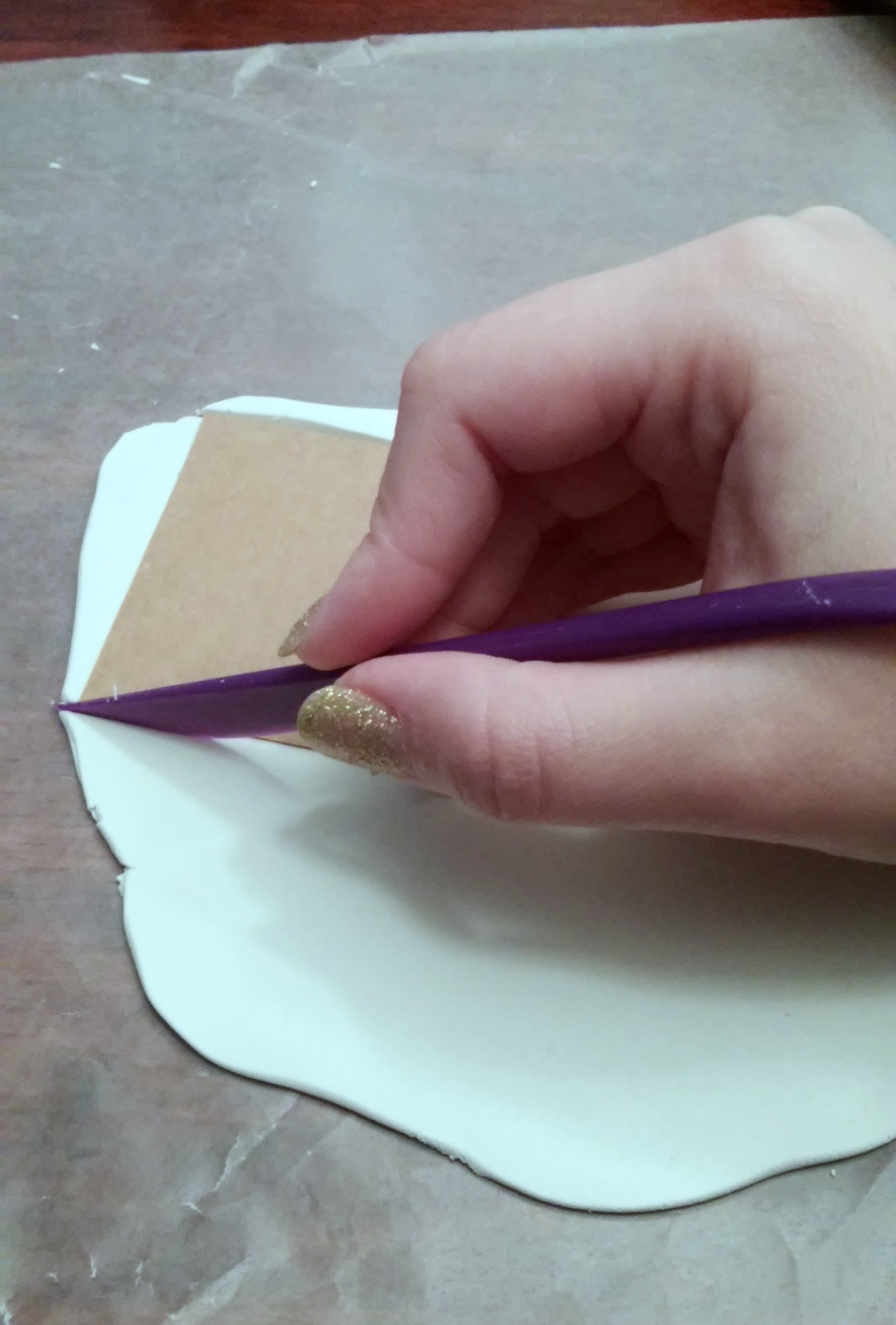 Picture of Rolling & Cutting the Clay