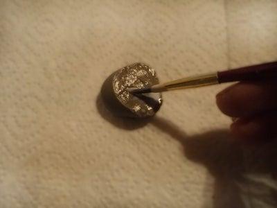 Make It Shine - Apply the Gold Metal Leaf