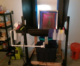 Screen Printing Washout Booth Filter system (part 2)