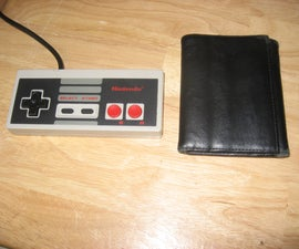 Perfect NES Controller Wallet (no show)
