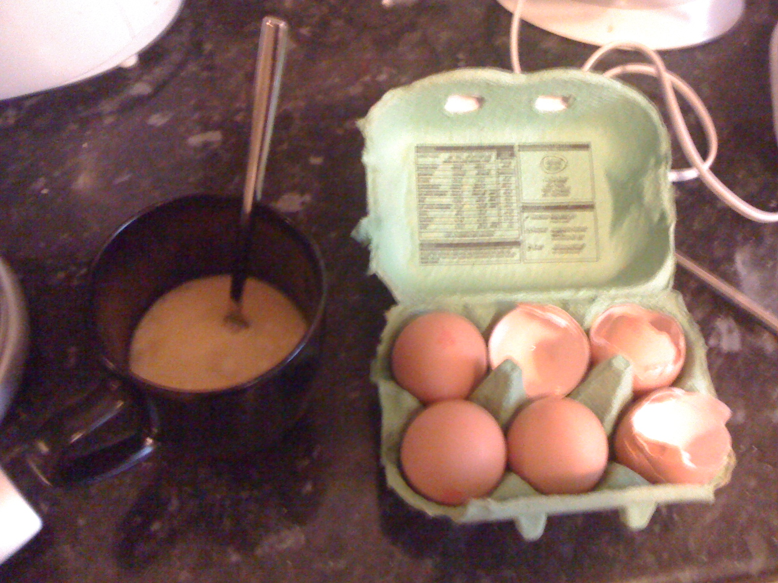 Picture of Eggs and Flour