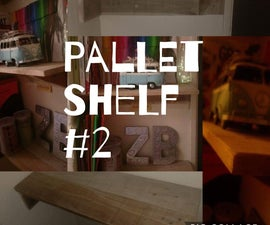 DIY Pallet Shelf #2