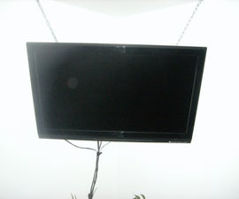 How 2 Hang your flat screen tv for under 55 dollars