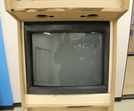 How to make a bezel for a tv screen/ video game monitor - I made it at TechShop Detroit!