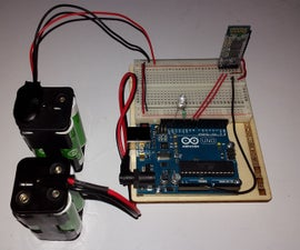 LED Intensity With Arduino and PC