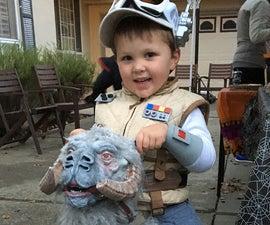 Luke Skywalker & Tauntaun Costume for a 4 Yr Old.