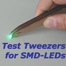 Test Tweezers for SMD-LEDs