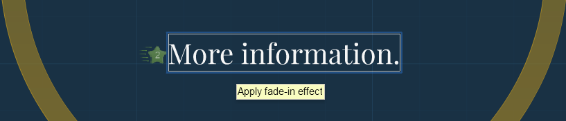 Picture of Applying & Re-Ordering Text Effects
