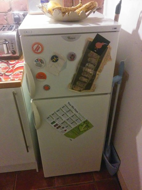 Picture of Hold Stuff to a Fridge With Your Favourite Badge