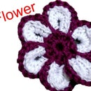 Crochet Cheerful Flower