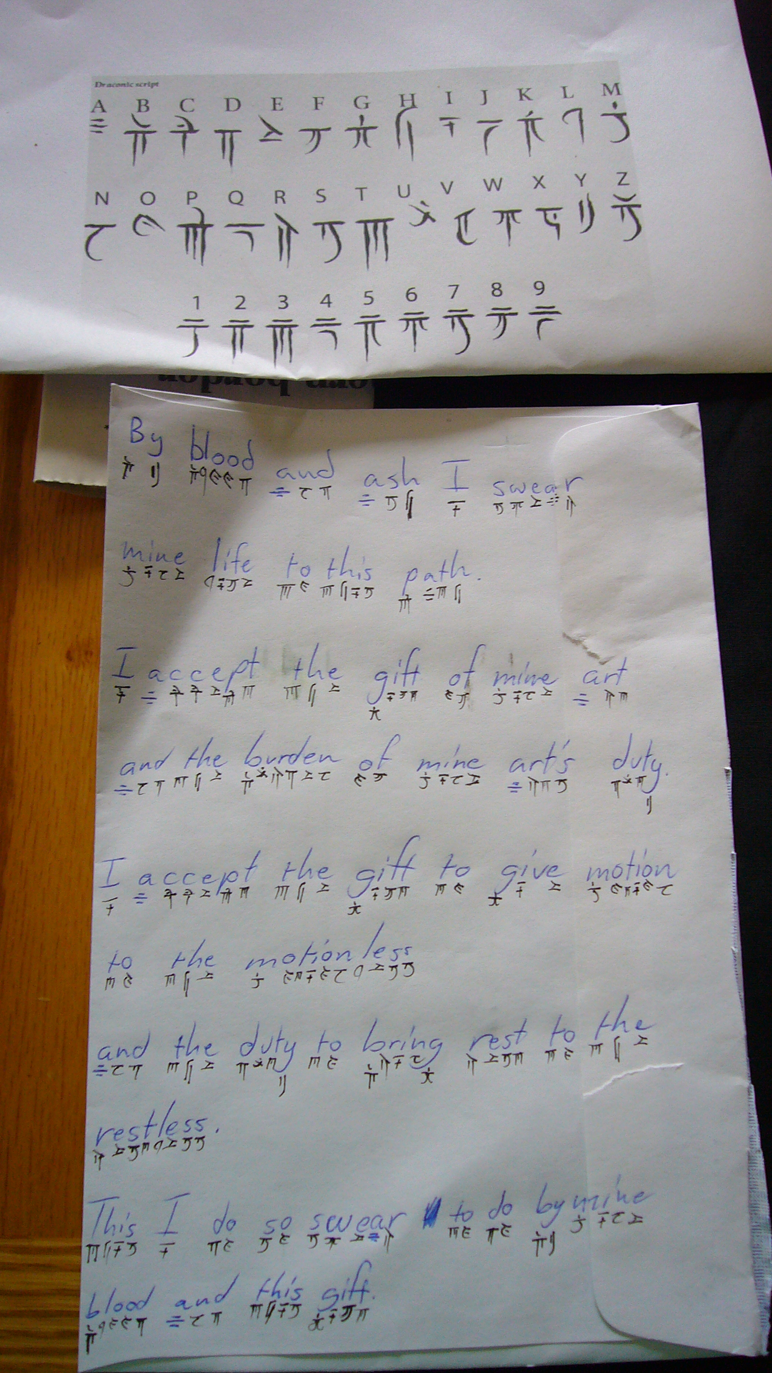 Picture of Runes, Who Needs Futhark?