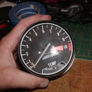 How to open a Honda CB/CX/GL style tachometer and Speedometer