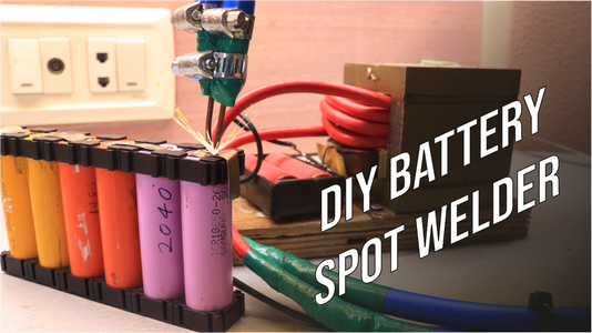 DIY Battery Spot Welder!