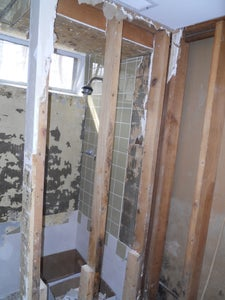 Removing the Dry Wall