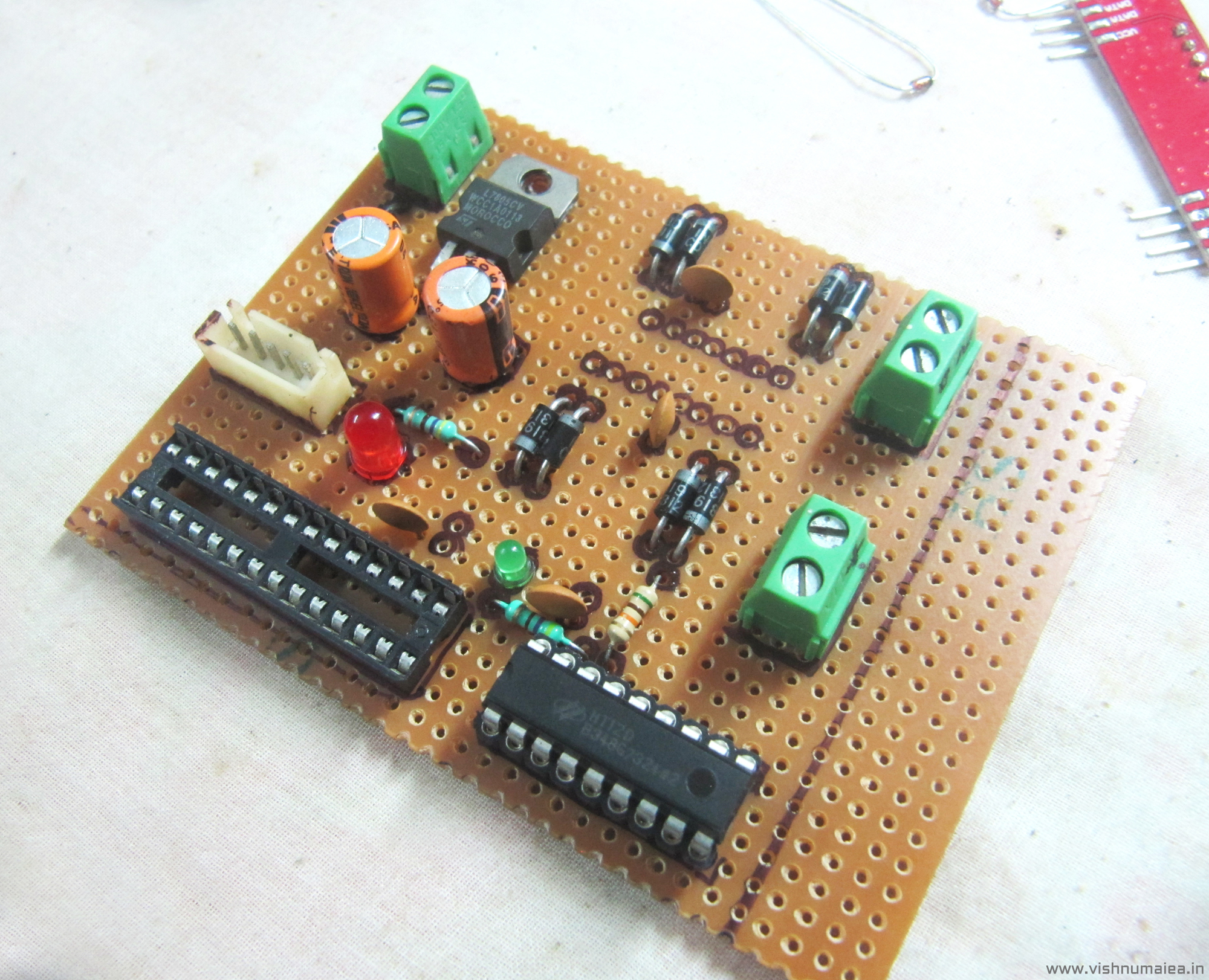 Picture of Building the Motor Driver