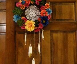 Dream Catcher Wreath!