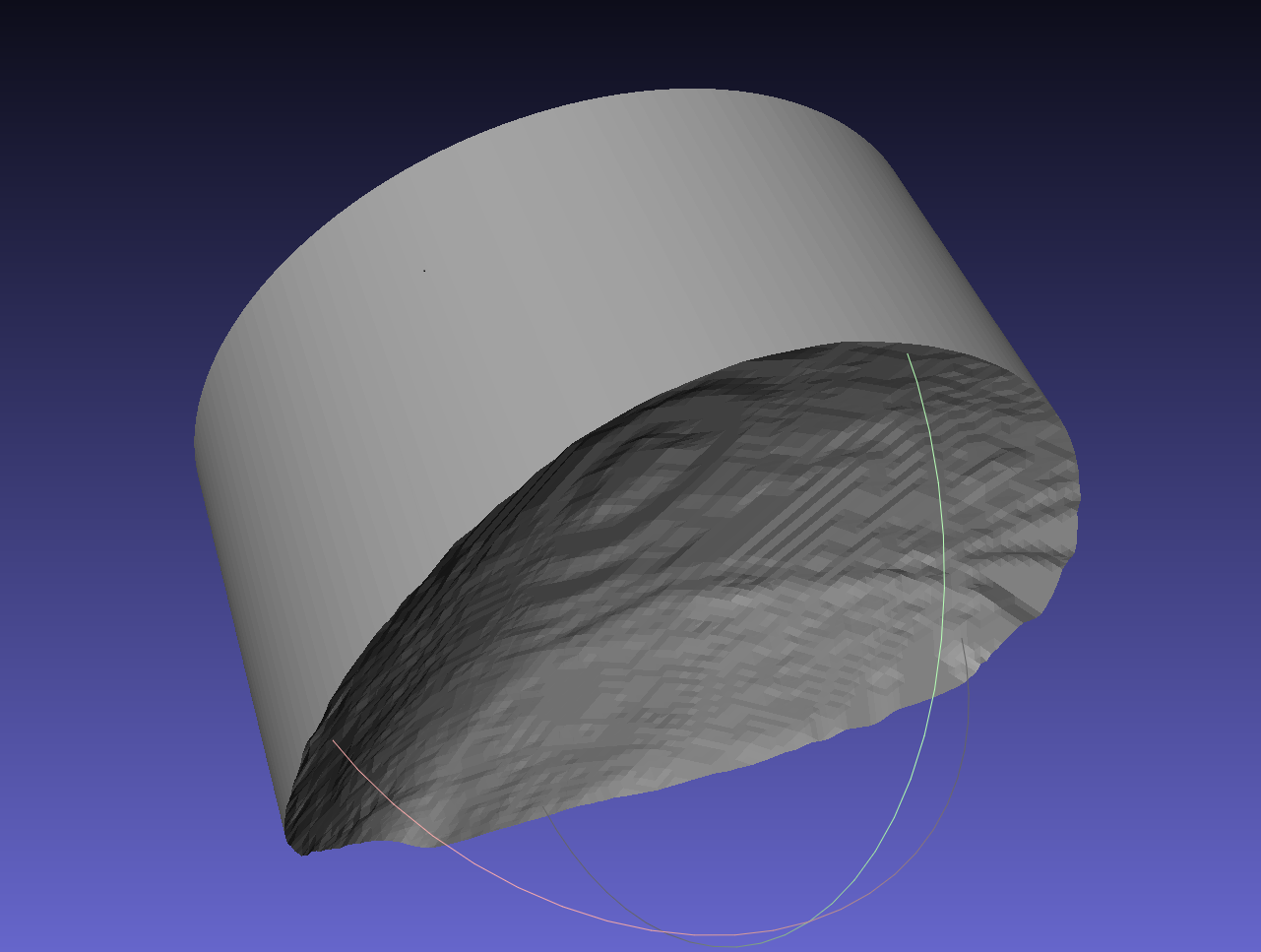 Picture of How to Convert Brainsight Custom Skull Surface (.stl) File to Autodesk Inventor (.ipt) File