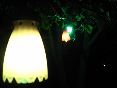 Testing the Lanterns in the Evening