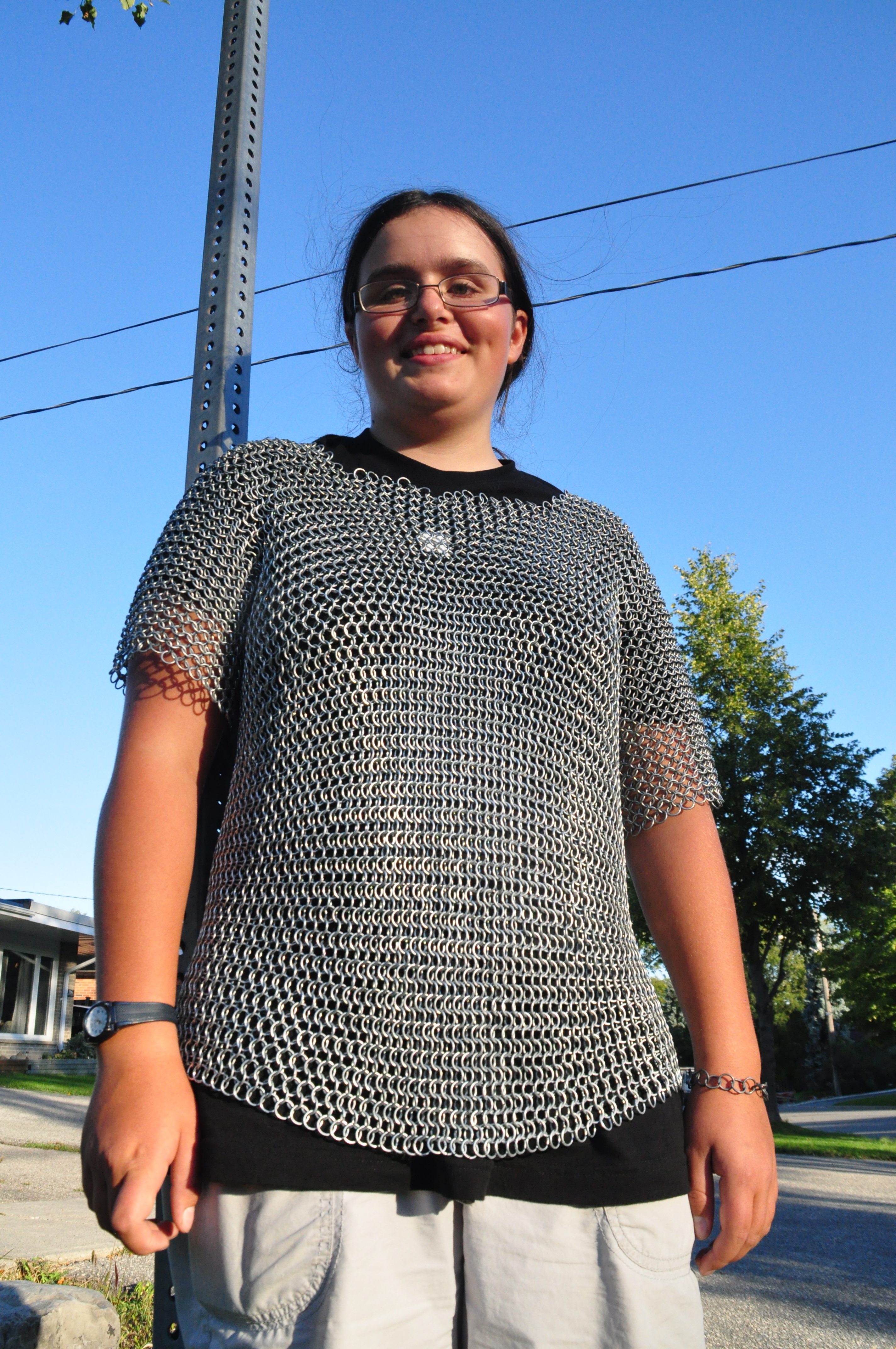Picture of How to Make a Chainmail Shirt - You Are DONE!