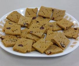 Healthy Snack Crackers