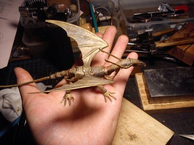 Weekend Project: a Forest Dragon