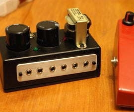 Build A Power Supply For Your Guitar Pedals