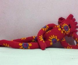 Toe Sock Monkey :D