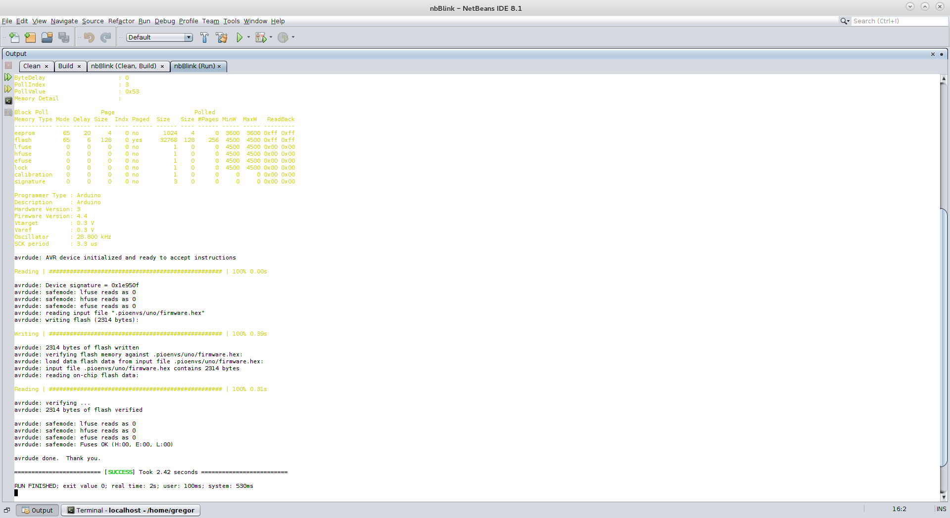 Picture of Uploading the Project to Arduino Board